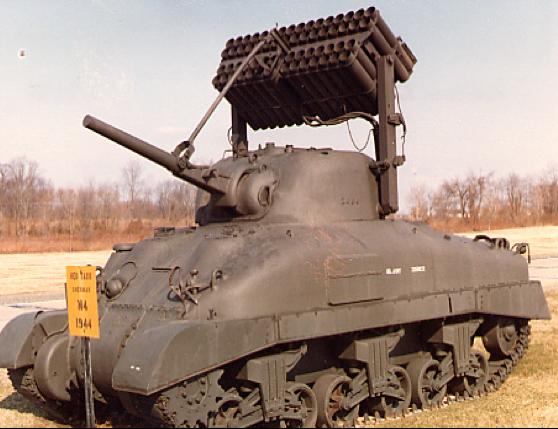 Реактивная пусковая установка T-34E2