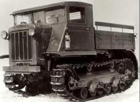 Средний артиллерийский тягач «Сталинец-2»