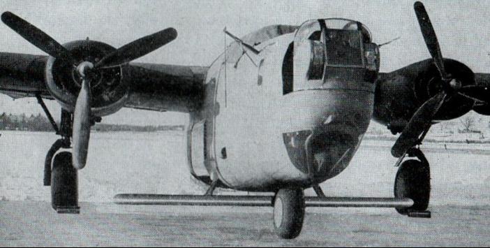 Антенна РЛС AN/APQ-7(Eagle) на В-24
