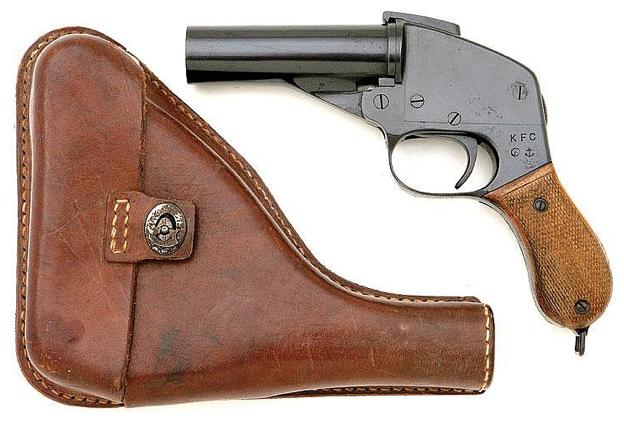 Сигнальный морской пистолет Type 97 с кобурой
