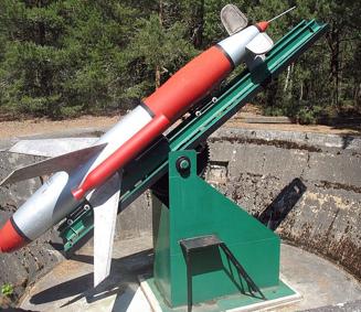 Зенитная управляемая ракета Rheintöchter R-3