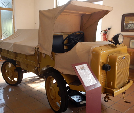 Тягач ОМ-35