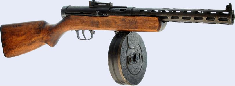 Пистолет-пулемет ППД-34/38
