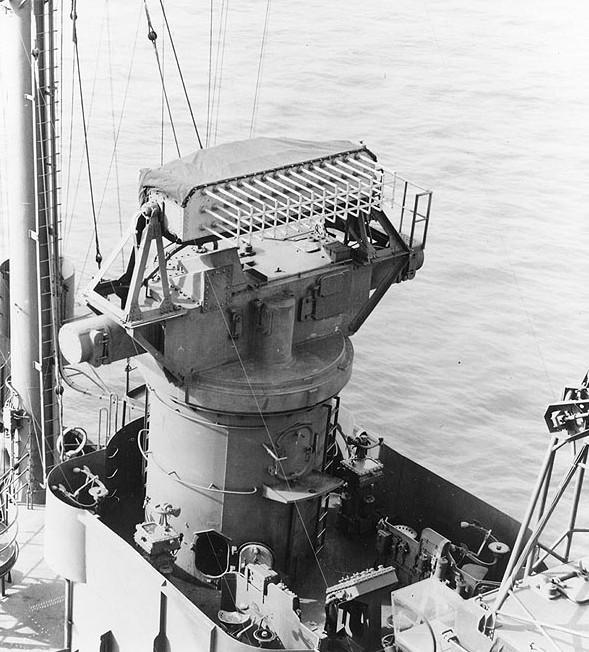 Корабельная РЛС Mk-8 (FH)
