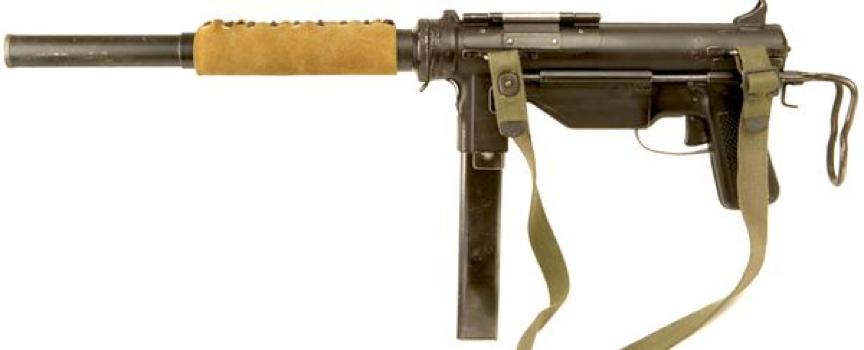 Пистолет-пулемет M-3А1