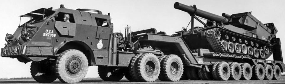 Автопоезд Pacific М-25 (Dragon Wagon)
