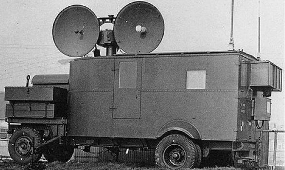 Передвижная РЛС №3 Mk-2 (GL Мk-III) фургон станции