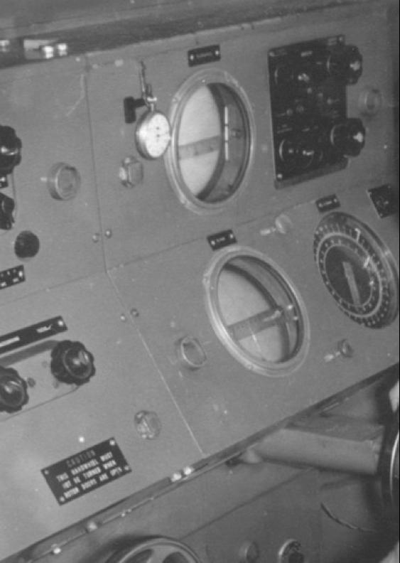 Передвижная РЛС №3 Mk-2 (GL Мk-III) пульт управления