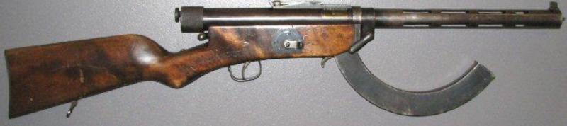 Пистолет-пулемет Suomi M-26