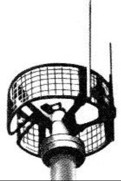 Антенна корабельной РЛС FuMB-29 Bali