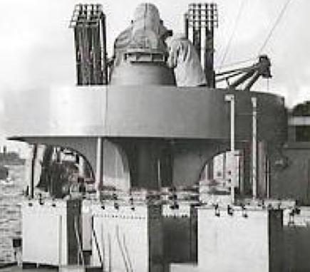 Морская пусковая установка Pillar Box с реактивными снарядами 2-Inch Rocket