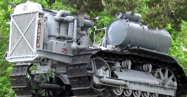Гусеничный трактор «Сталинец-60» (С-60)