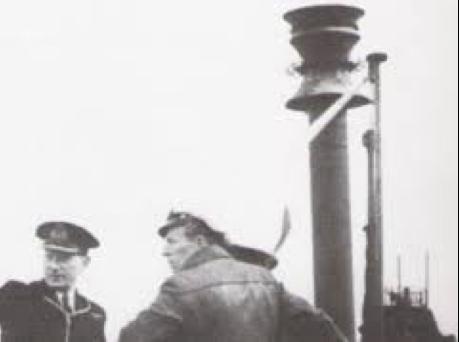 Антенна корабельной РЛС FuMB-35 Athos