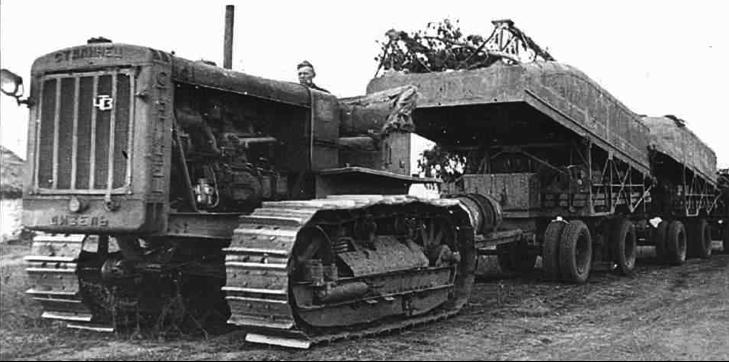 Гусеничный трактор «Сталинец-65» (С-65)