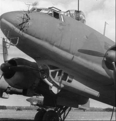 Авиационная РЛС FuG-200 (Hohentwiel) на самолете FW-200