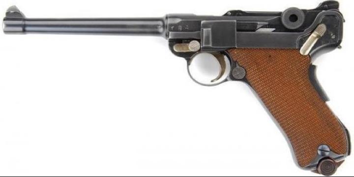 Пистолет Navy Model 1904 (Navy Luger). Parabellum М-1904