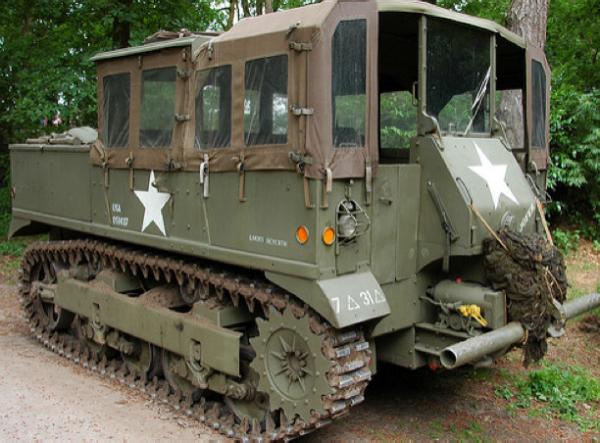 Артиллерийский тягач М-5