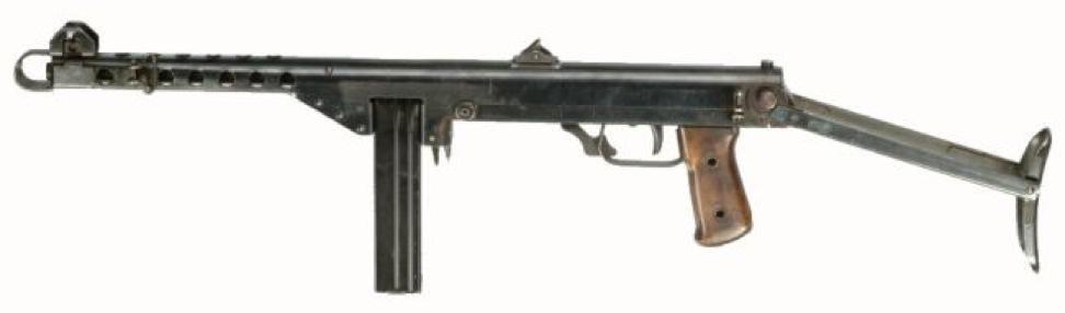 Пистолет-пулемет M-44 Tikkakoski с 20-зарядным магазином