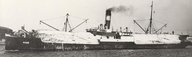 Вспомогательный минный заградитель «Hanonia» (Schiff-III)