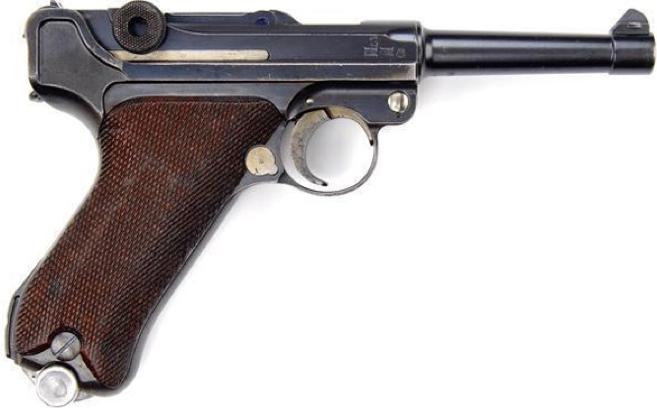 Пистолет Parabellum М1908. (Luger). (Pistole Parabellum P.08)