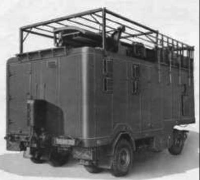 Передвижная РЛС №4 Mk-7