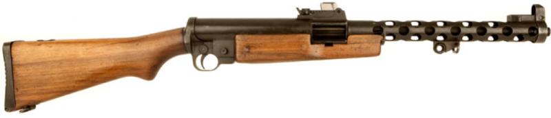 Пистолет-пулемет ZK-383