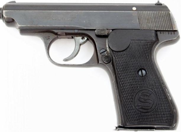 Пистолет Sauer 38-H