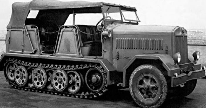 Полугусеничный тягач Fiat – SC-727
