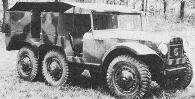 Артиллерийский тягач Latil M-7Z1