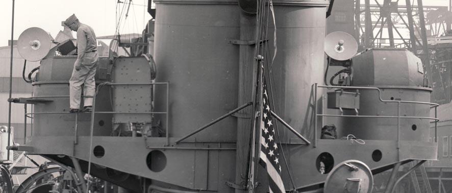 Антенны корабельной РЛС Mk-11