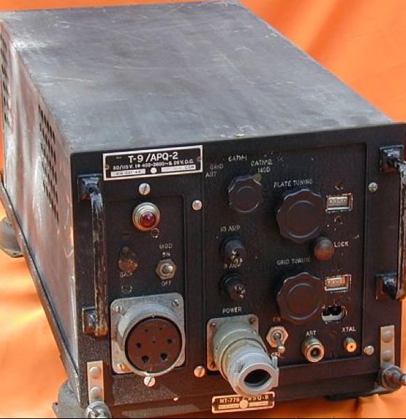 Авиационный бортовой передатчик помех AN/APQ-2 T-9 (Rug)