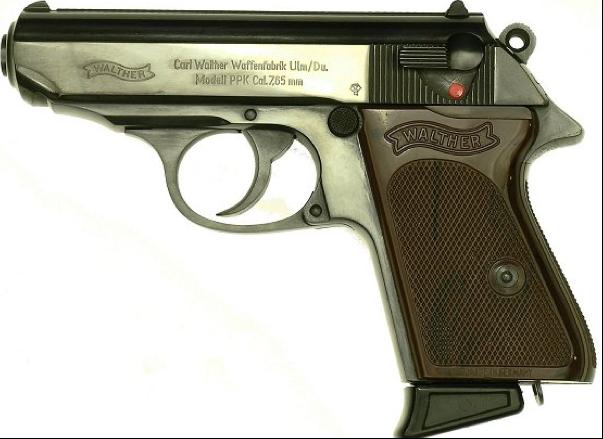 Пистолет Walther PPК (7,65mm)