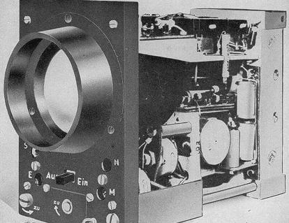 Индикатор с блоком управления РЛС FuG-218 (Neptun)