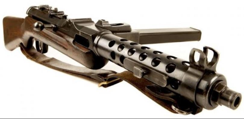 Пистолет-пулемет Steyr-Solothurn S1-100