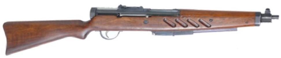 Пистолет-пулемет SIG MKPO, магазин сложен