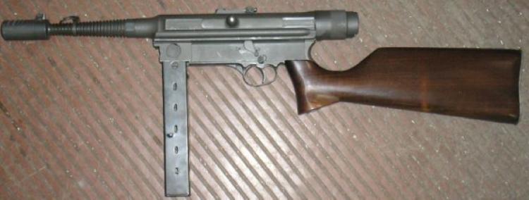Пистолет-пулемет Halcon M-1943