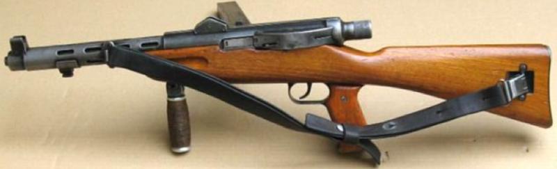 Пистолет-пулемет W+F Lmg.-Pist 41/44