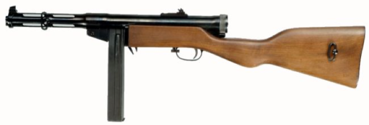 Пистолет-пулемет Suomi M-37/39