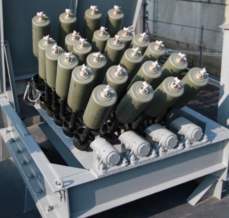 Бомбомет реактивных глубинных бомб «Hedgehog Mk-10» (Еж)