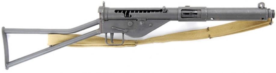 Пистолет-пулемет STEN Mk-I* без компенсатора и деревянных деталей