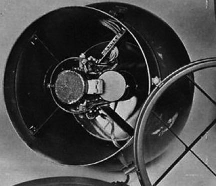 Инфракрасная антенна РЛС FuG-280 (Kiel)