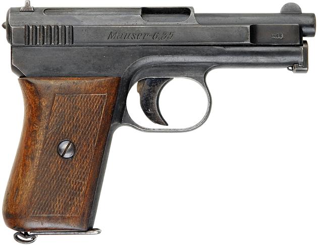 Пистолет Mauser M-1910