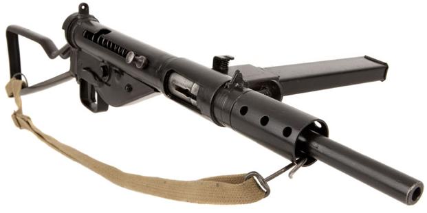 Пистолет-пулемет STEN Mk-II