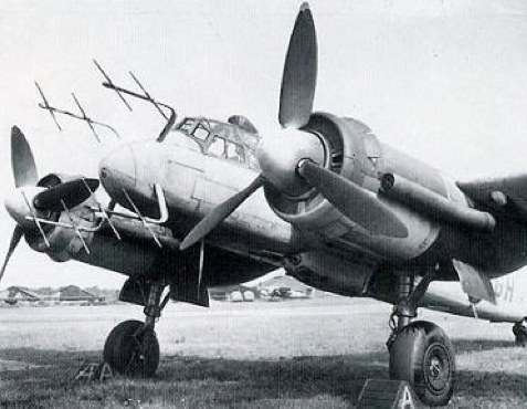 РЛС FuG-350 на самолете Ju 88G-6