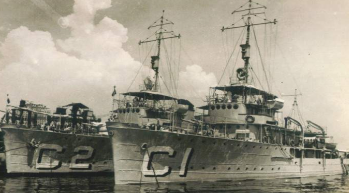 Минные заградители «Carioca» (С-1) и «Cananeia» (С-2)