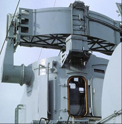 Антенна корабельной РЛС Type-274