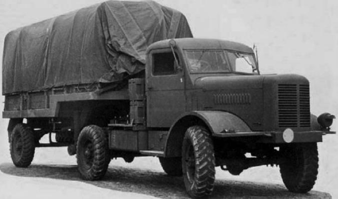 Седельный тягач FWD HAR-03