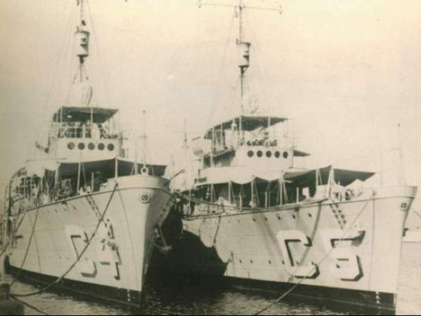 Минные заградители «Cabedelo» (С-4) и «Caravelas» (С-5)