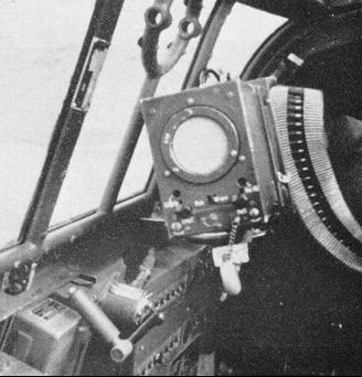 Блок управления РЛС FuG-350 Naxos Z в кабине Bf-110