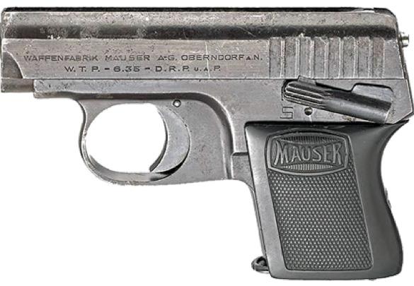 Пистолет Mauser WTP